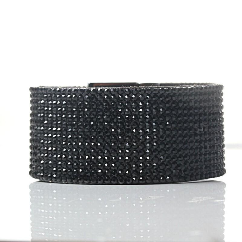 Armband Disco Black