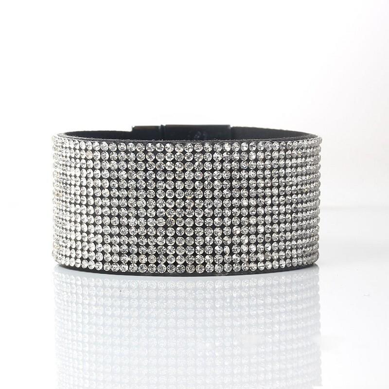 Armband Disco White