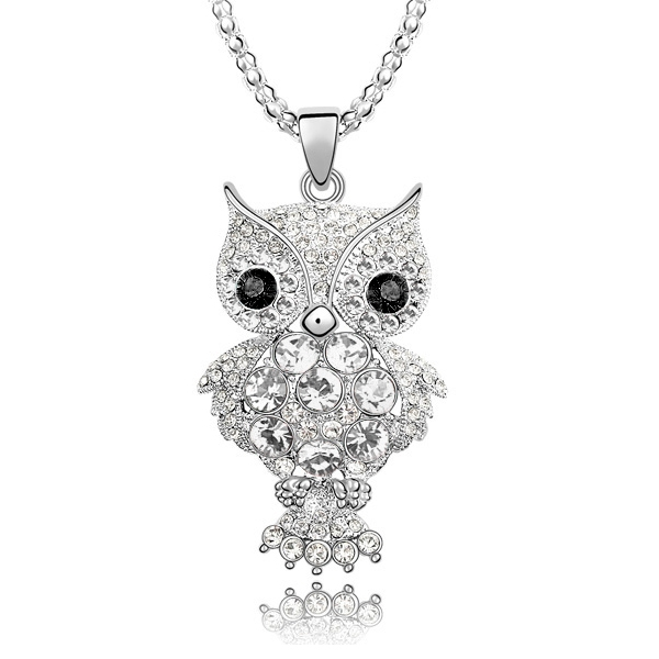 Ketting Owl Black Eyes