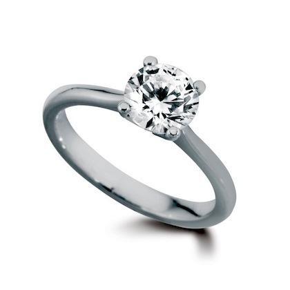ring met diamant prijs